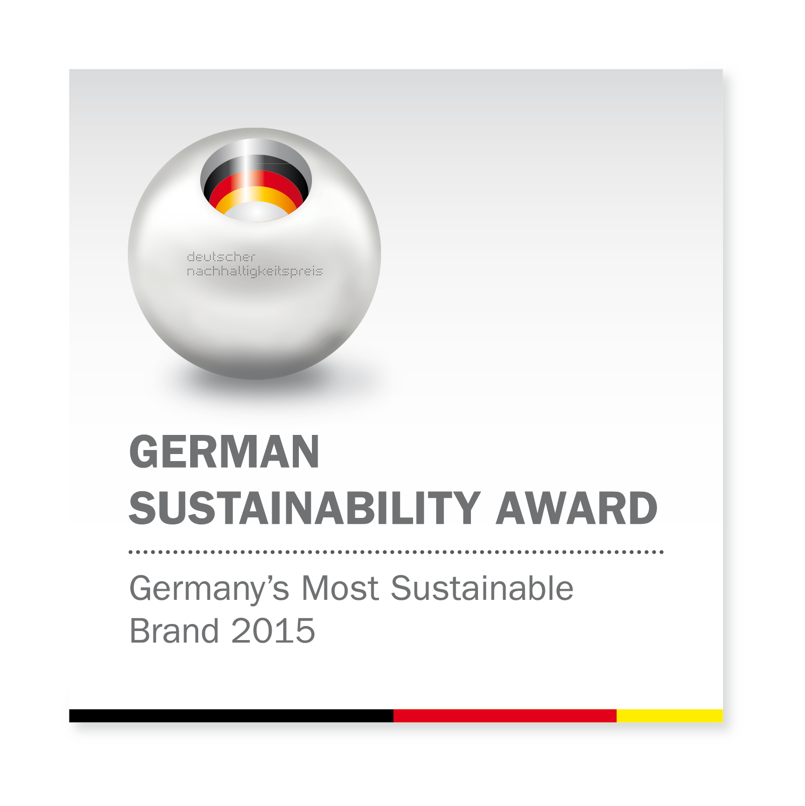 German Sustainability Award 2015