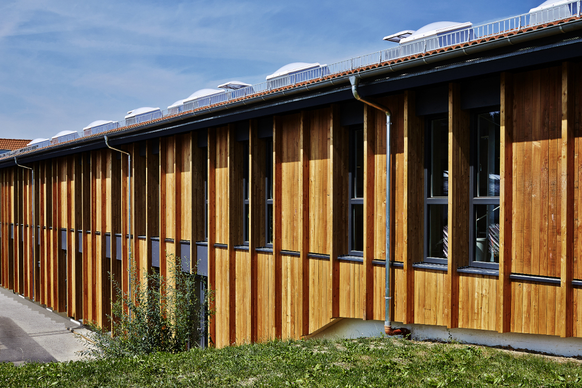 Sustainable remodeling of the VAUDE Headquarters